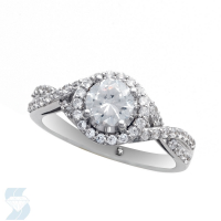 06590 1.12 Ctw Bridal Engagement Ring