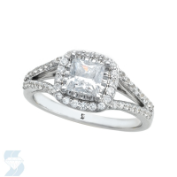 06596 1.08 Ctw Bridal Engagement Ring