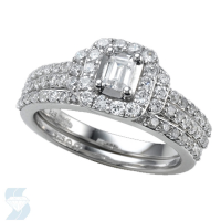 6601 0.21 Ctw Bridal Engagement Ring