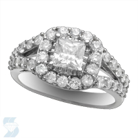 06607 1.77 Ctw Bridal Engagement Ring