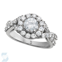 06610 1.71 Ctw Bridal Engagement Ring