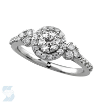 6665 0.77 Ctw Bridal Engagement Ring