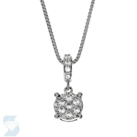 6668 0.14 Ctw Fashion Pendant