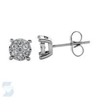 6671 0.23 Ctw Fashion Earring