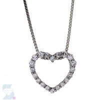 6693 0.26 Ctw Fashion Pendant