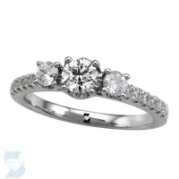 6718 0.84 Ctw Bridal Engagement Ring