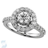 06723 1.58 Ctw Bridal Engagement Ring