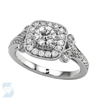 06745 1.01 Ctw Bridal Engagement Ring