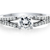 06803 1.05 Ctw Bridal Engagement Ring