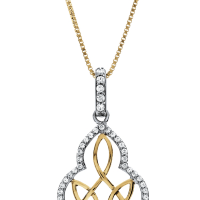 6805 0.36 Ctw Fashion Pendant