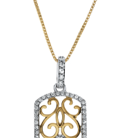 6808 0.33 Ctw Fashion Pendant