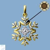 06813 0.09 Ctw Fashion Pendant
