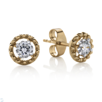 6843 0.20 Ctw Fashion Earring