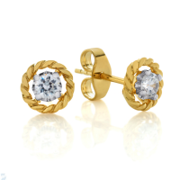6846 0.20 Ctw Fashion Earring