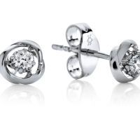6848 0.10 Ctw Fashion Earring
