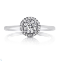 06854 0.20 Ctw Bridal Engagement Ring