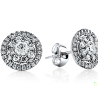 6864 0.72 Ctw Fashion Earring