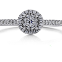 06868 0.21 Ctw Bridal Engagement Ring