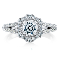 06874 1.04 Ctw Bridal Engagement Ring
