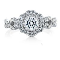 06875 1.01 Ctw Bridal Engagement Ring