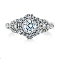 6877 1.02 Ctw Bridal Engagement Ring