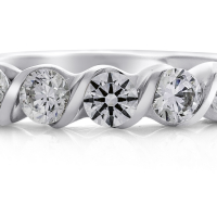 6889 1.12 Ctw Bridal Engagement Ring