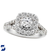 06895 1.33 Ctw Bridal Engagement Ring