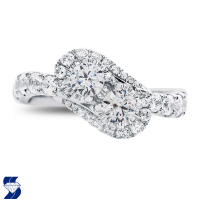 6973 1.39 Ctw Bridal Engagement Ring