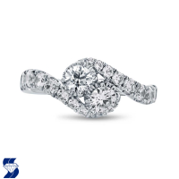 06976 1.38 Ctw Bridal Engagement Ring