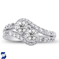 06977 1.43 Ctw Bridal Engagement Ring