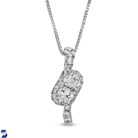07001 0.54 Ctw Fashion Pendant