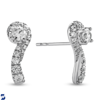07002 0.54 Ctw Fashion Earring