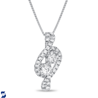 7045 0.49 Ctw Fashion Pendant