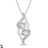 7047 0.94 Ctw Fashion Pendant