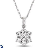 7137 0.49 Ctw Fashion Pendant